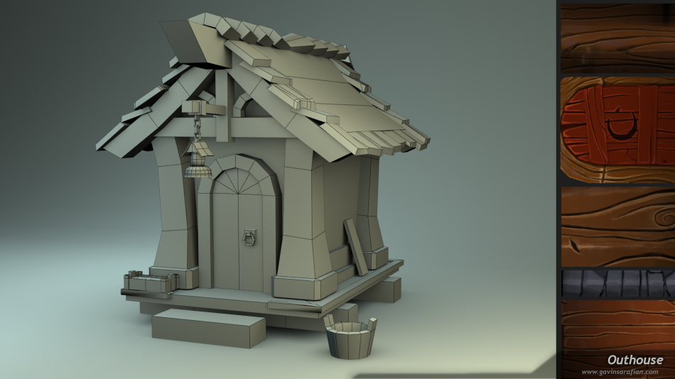Outhouse-Wireframe